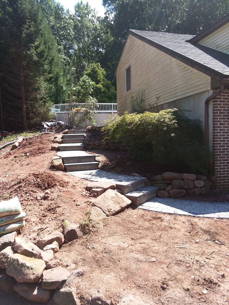 Hardscape Stairs - King of Prussia PA