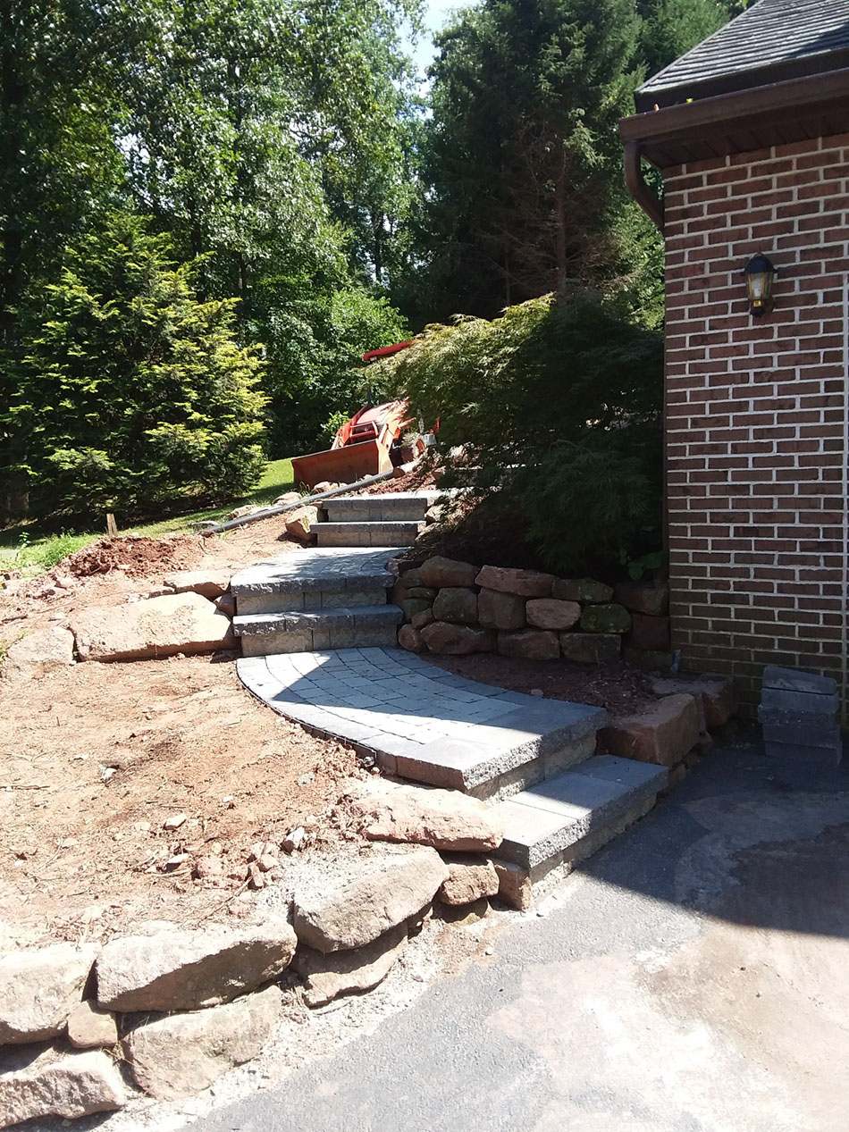 Hardscaping Steps - King of Prussia PA