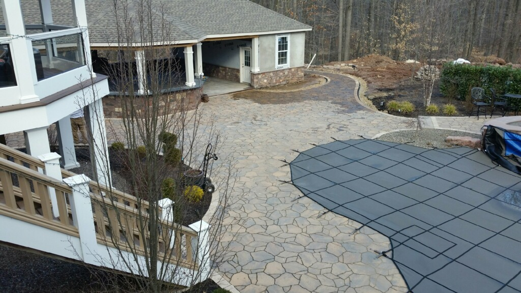 Completed Patios