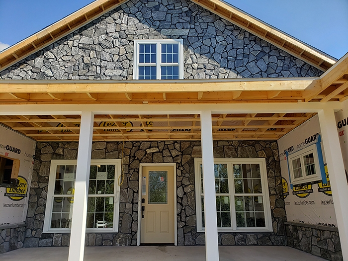 Natural stone on House - reading pa