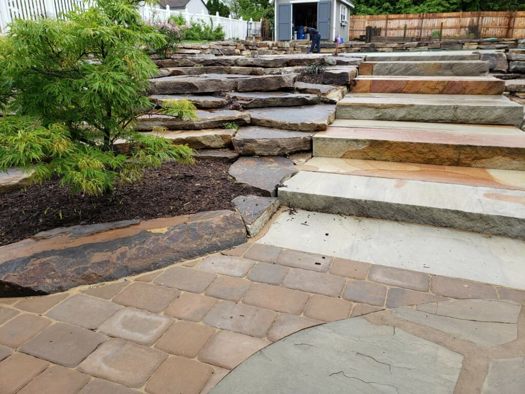 custom hardscaper and hardscaping services in wyomissing pa, provided by A Stone's Throw LLC