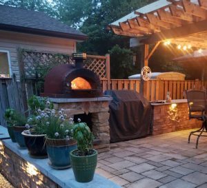 outdoor stone oven
