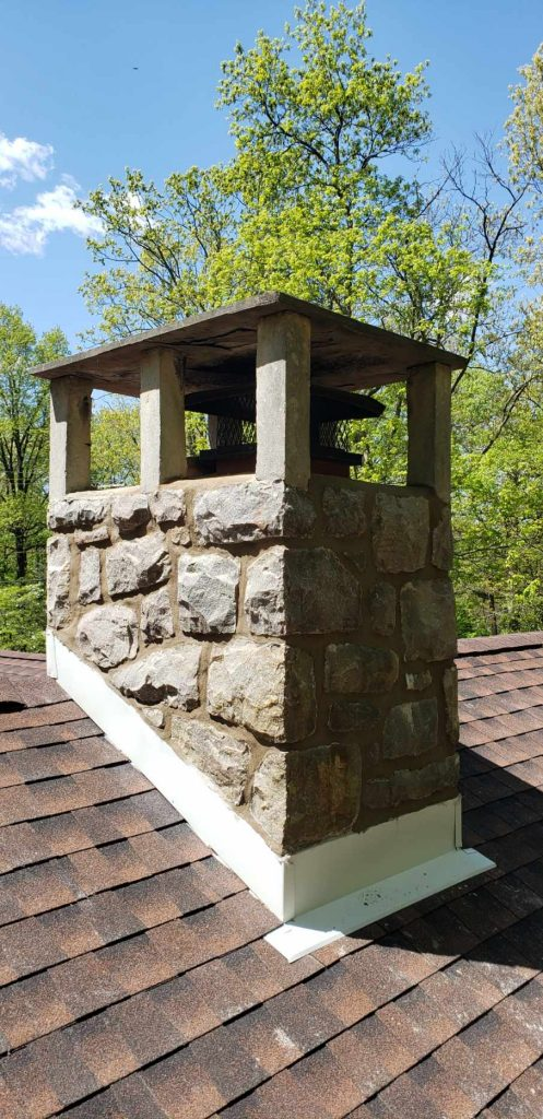 repointing chimney work - reading pa