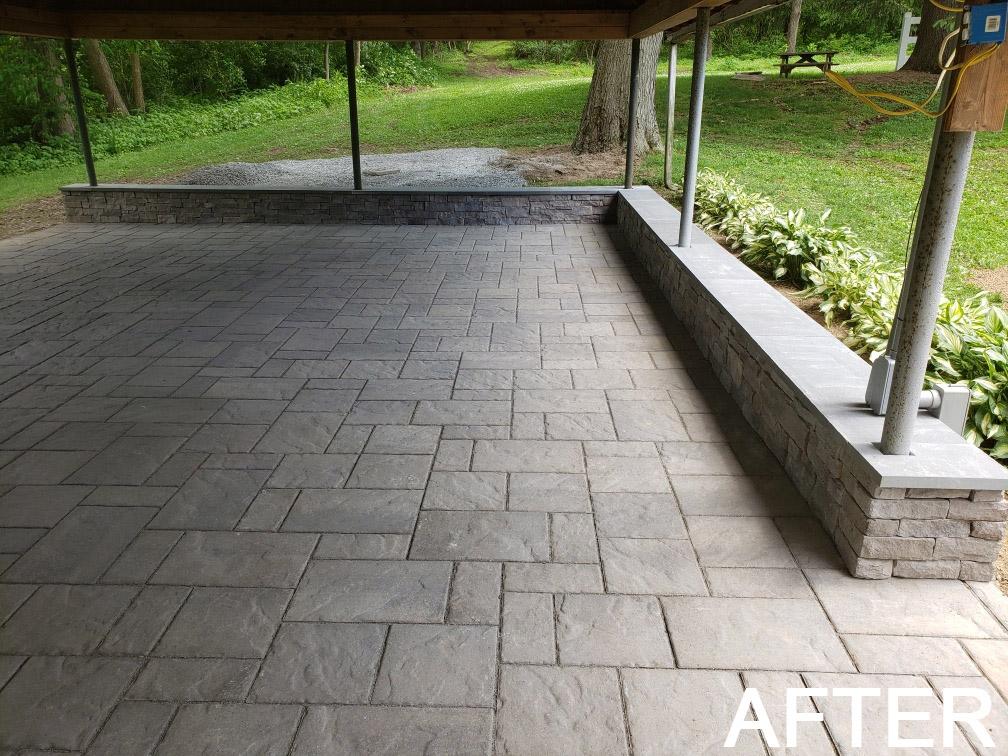 Pavilion after - new